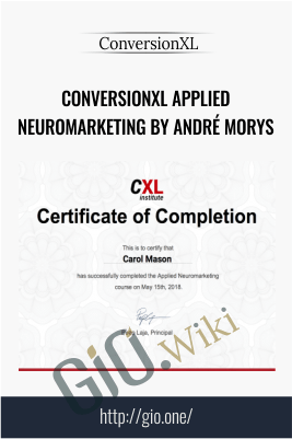 Conversionxl Applied neuromarketing by André Morys