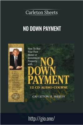 No Down Payment – Carleton Sheets