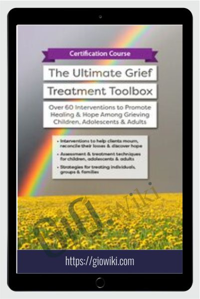 Certification Course: The Ultimate Grief Treatment Toolbox: Over 60 Interventions to Promote Healing & Hope Among Grieving Children, Adolescents & Adults - Erica Sirrine