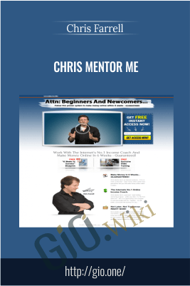 Chris Mentor Me – Chris Farrell