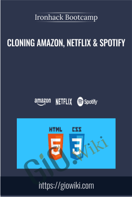 Cloning Amazon, Netflix & Spotify - Ironhack Bootcamp