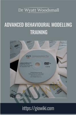 Advanced Behavioural Modelling Training - Dr Wyatt Woodsmall
