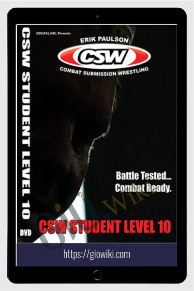 CSW Student Level 6 to 10 - Erik Paulson