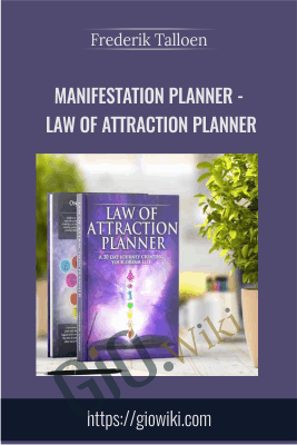 Manifestation Planner - Law Of Attraction Planner - Frederik Talloen