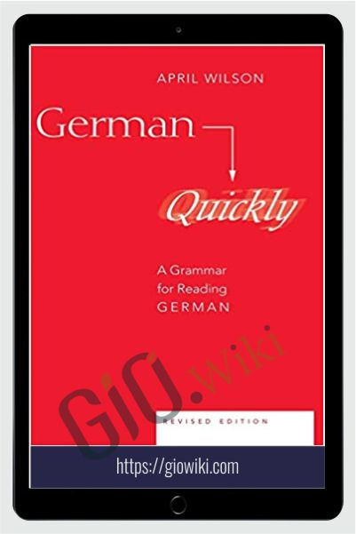 A Grammar for Reading German - German Quickly