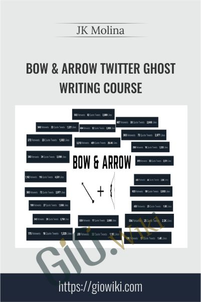 Bow & Arrow Twitter Ghost Writing Course – JK Molina