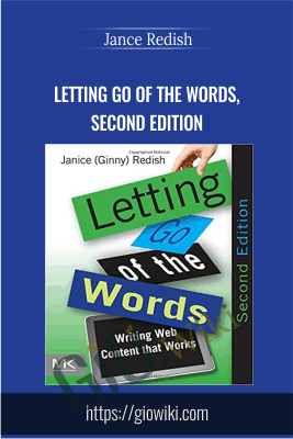 Letting go of the words, second edition - Janice Redish