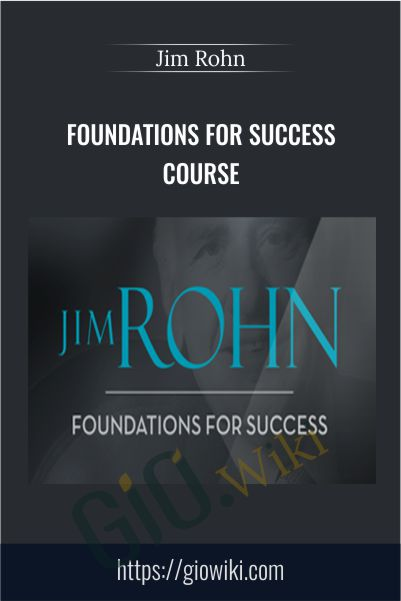 Foundations For Success Course - Jim Rohn