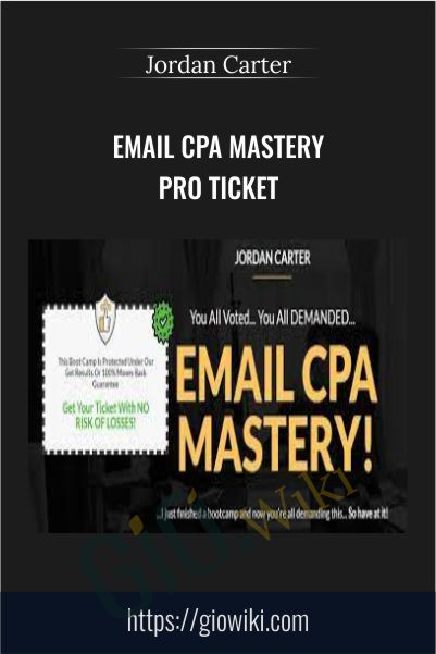 Email CPA Mastery Pro Ticket – Jordan Carter