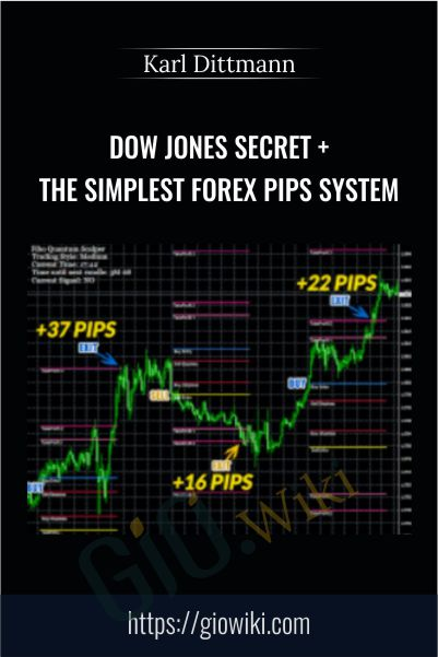 Dow Jones Secret + The Simplest Forex Pips System – Karl Dittmann