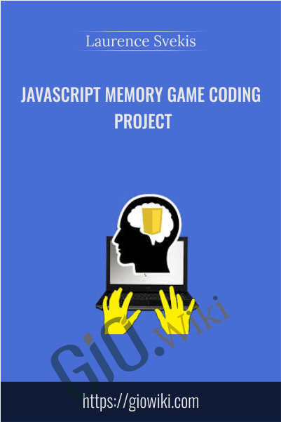 JavaScript Memory Game coding project - Laurence Svekis