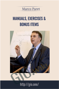 Manuals, Exercises & Bonus Items – Marco Paret