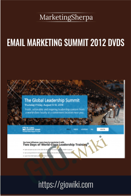 eMail Marketing Summit 2012 DVDs - MarketingSherpa