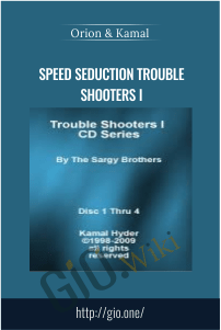 Speed Seduction Trouble Shooters I – Orion & Kamal