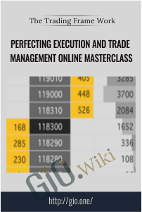 Perfecting Execution and Trade Management Online Masterclass
