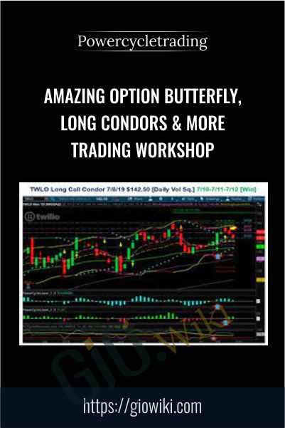 Amazing Option Butterfly, Long Condors & More Trading Workshop – Powercycletrading