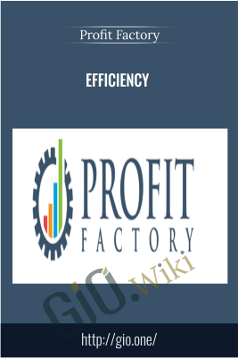 Efficiency – Profit Factory