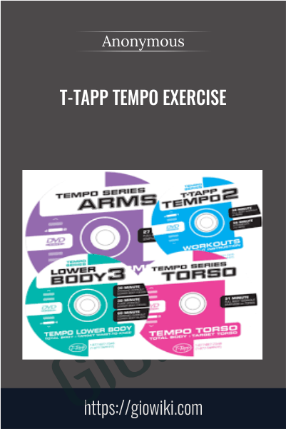 T-Tapp Tempo Exercise - Anonymous