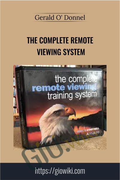The Complete Remote Viewing System - Gerald O' Donnell