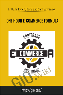 One Hour E-commerce Formula – Brittany Lynch, Boris and Sam Savransky