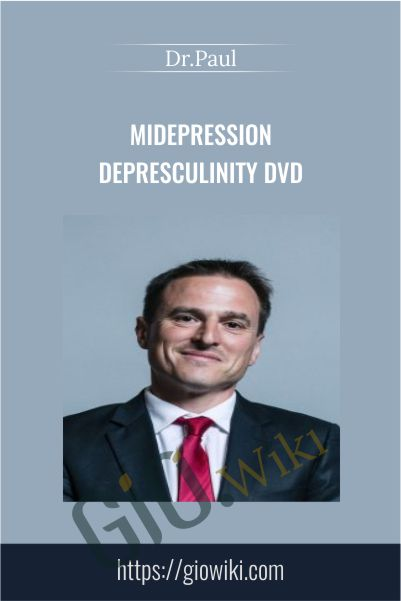 MiDepression Depresculinity DVD – Dr.Paul