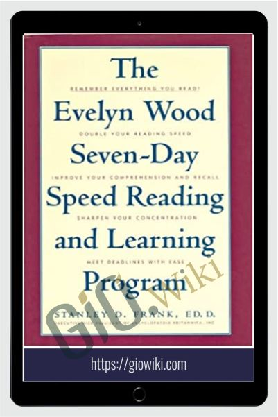 7 Day Speed Reading & Learning Program - Evelyn Wood