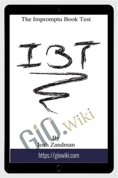 Impromptu Book Test - Josh Zanderman