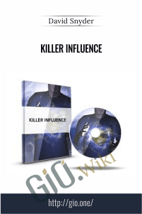 Killer Influence – David Snyder