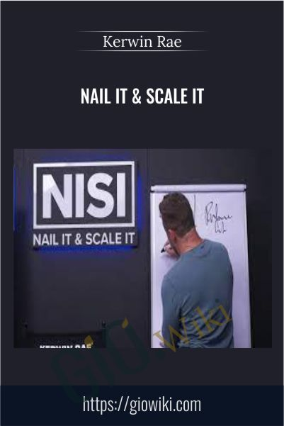 Nail It & Scale It – Kerwin Rae