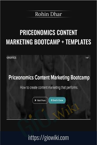 Priceonomics Content Marketing Bootcamp + Templates - Rohin Dhar