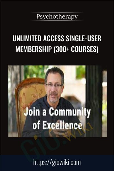 Unlimited Access Single-User Membership (300+ courses) – Psychotherapy