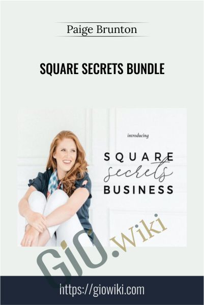 Square Secrets Bundle - Paige Brunton