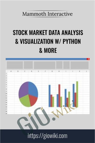 Stock Market Data Analysis & Visualization w/ Python & More - Mammoth Interactive