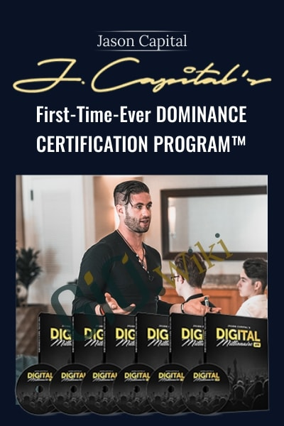 First-Time-Ever DOMINANCE Certification Program