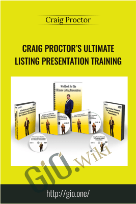 Craig Proctor's Ultimate Listing Presentation Training