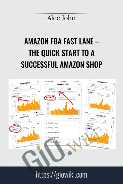 Amazon FBA Fast Lane – The Quick Start To A Successful Amazon Shop – Alec John