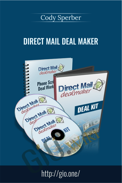 Direct Mail Deal Maker - Cody Sperber