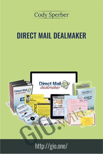 Direct Mail Dealmaker - Cody Sperber