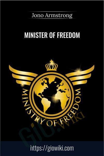 Minister of Freedom – Jono Armstrong