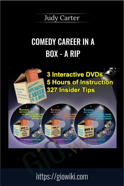 Comedy Career in a Box - a Rip - Judy Carter