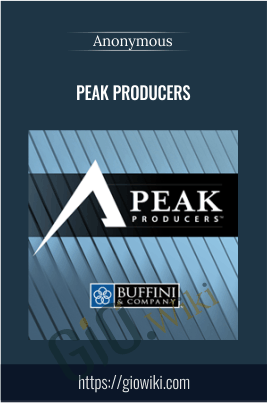 Peak Producers - Anonymous
