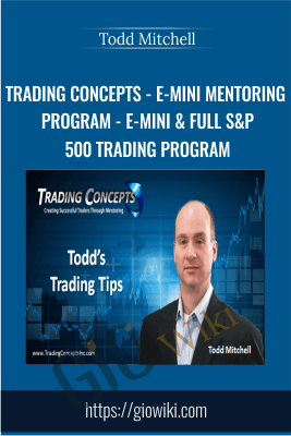 Trading Concepts - E-Mini Mentoring Program - E-Mini & Full S&P 500 Trading Program- Todd Mitchell