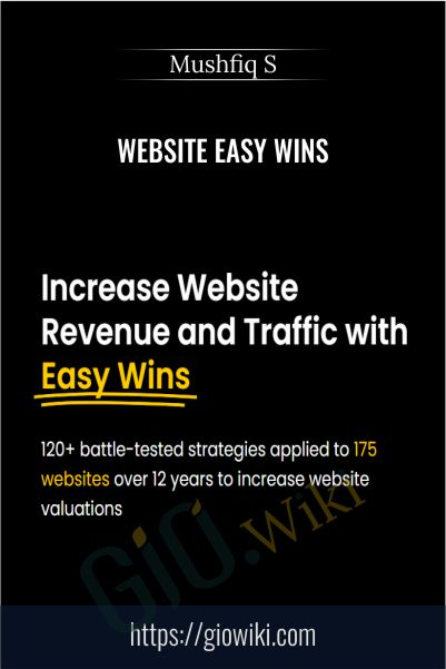 Website Easy Wins - Mushfiq S