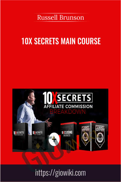 10X Secrets Main Course - Russell Brunson