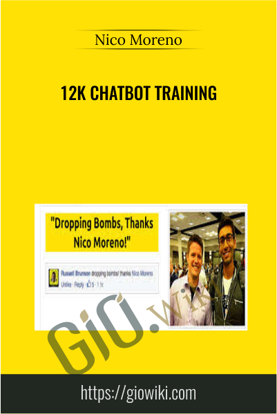 12k Chatbot Training - Nico Moreno