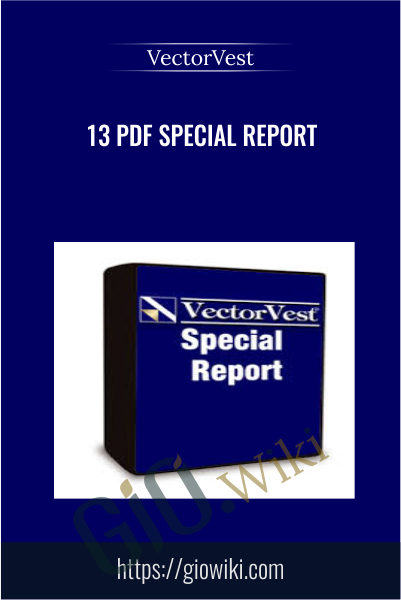 13 PDF Special Report - VectorVest