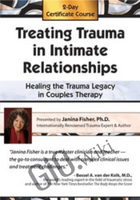 2-Day Certificate Course: Treating Trauma in Intimate Relationships - Healing the Trauma Legacy in Couples Therapy - Janina Fisher