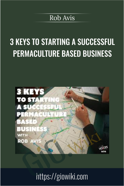 3 Keys to Starting A Successful Permaculture Based Business - Rob Avis
