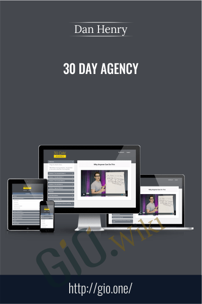 30 Day Agency - Dan Henry