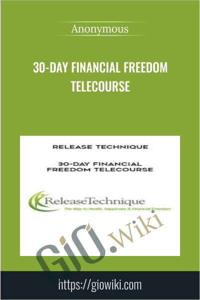 30-Day Financial Freedom Telecourse
